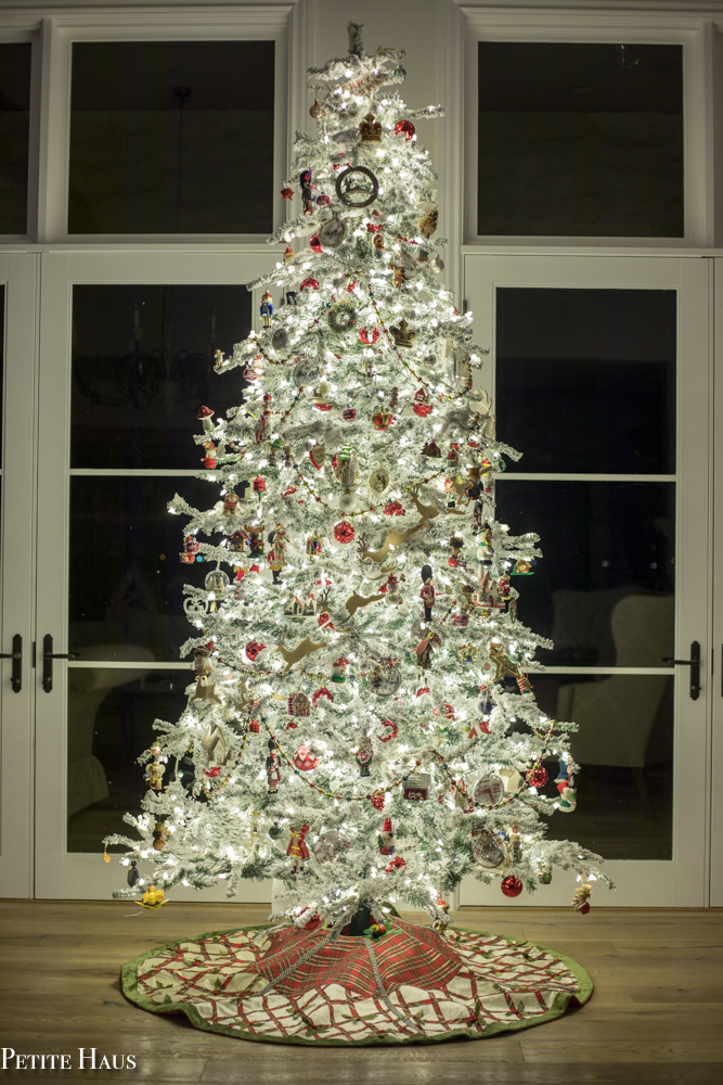 Traditional Flocked Christmas Tree