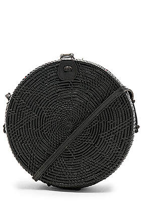 Hat box round circle bag
