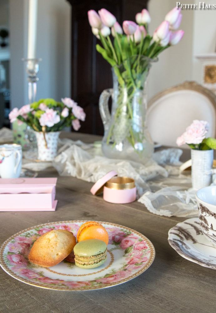 Valentine's Day Pink tea party