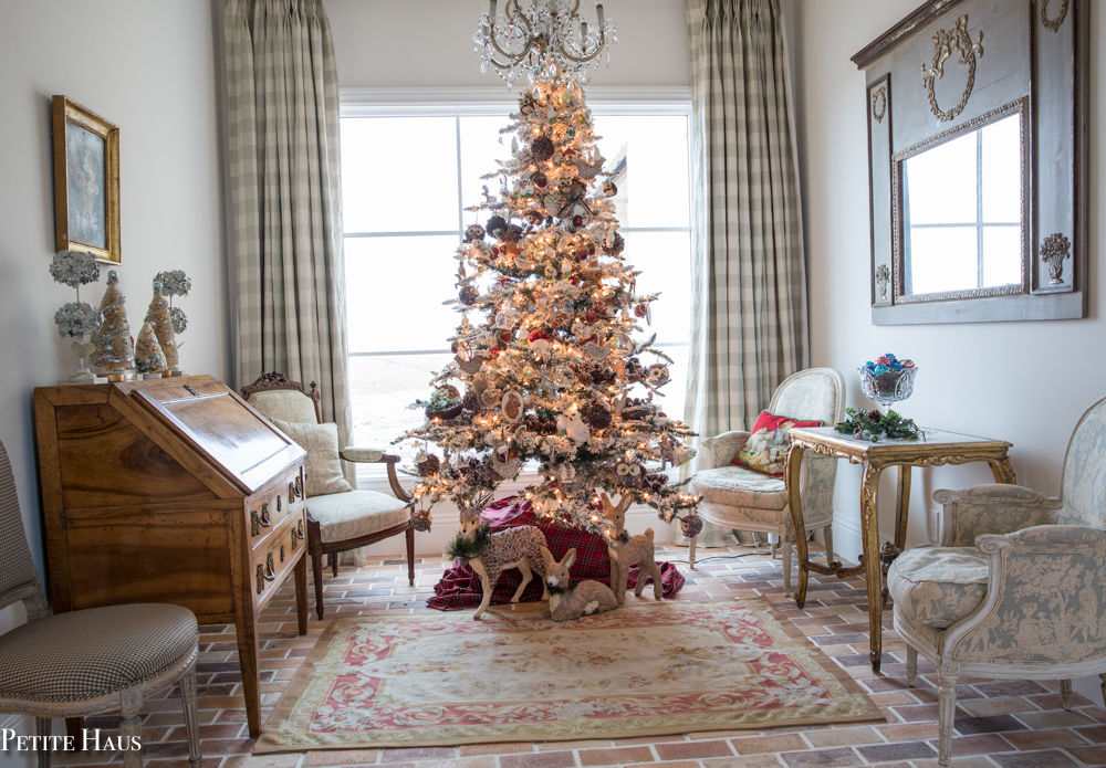 French Country Christmas Decor... Home Tour Part 1