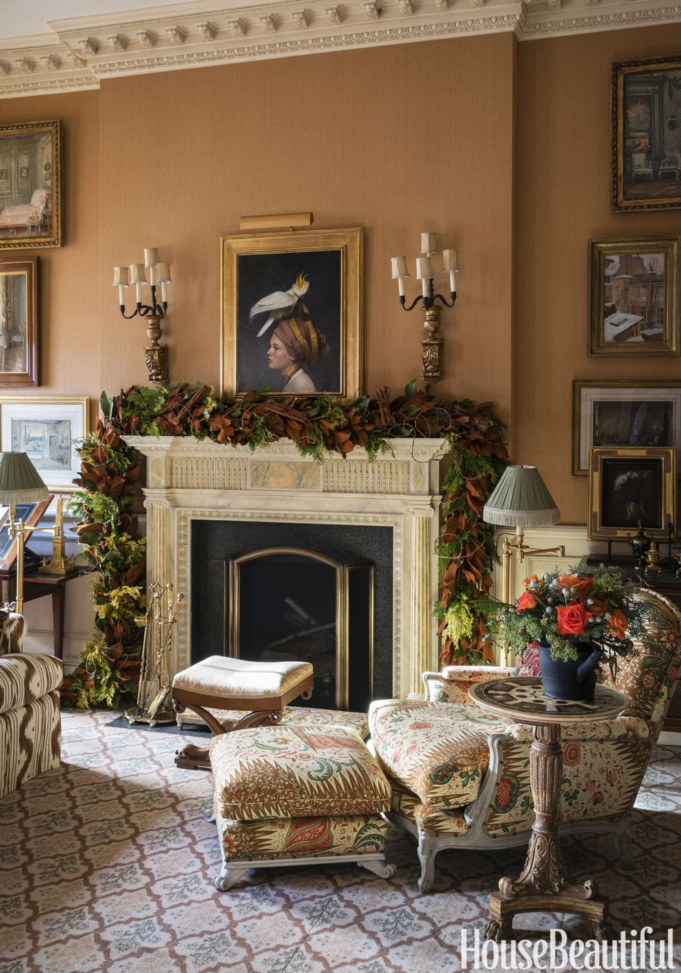 A Charlotte Moss Christmas Weekly Design Inspiration