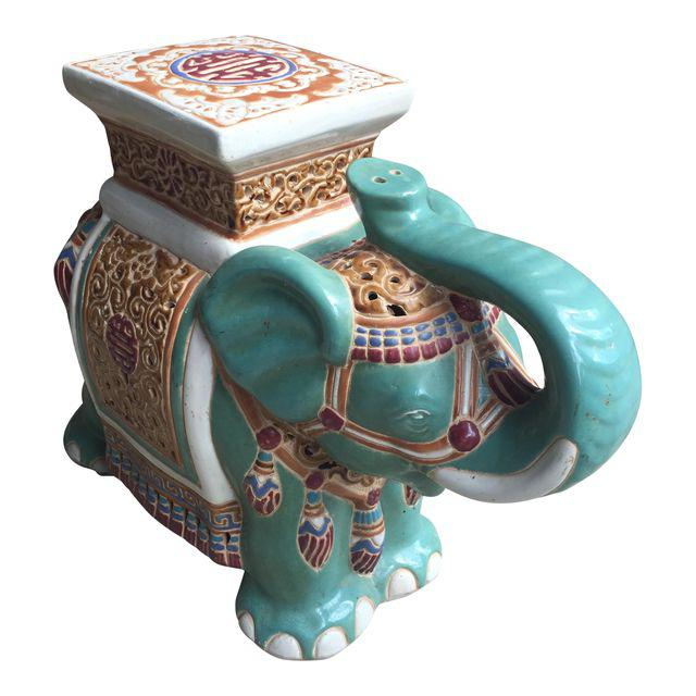 Antique And Vintage Elephant Garden Stools Friday