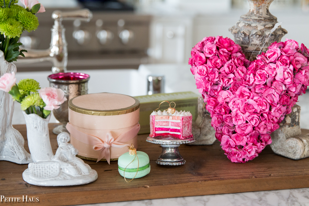 Valentine\'s Day Decor Idea with Chocolate Boxes - Petite Haus