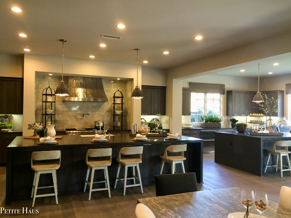 We Decided On An Eventual Layout After We Were Inspired By This Kitchen  That We Toured In SoCal.