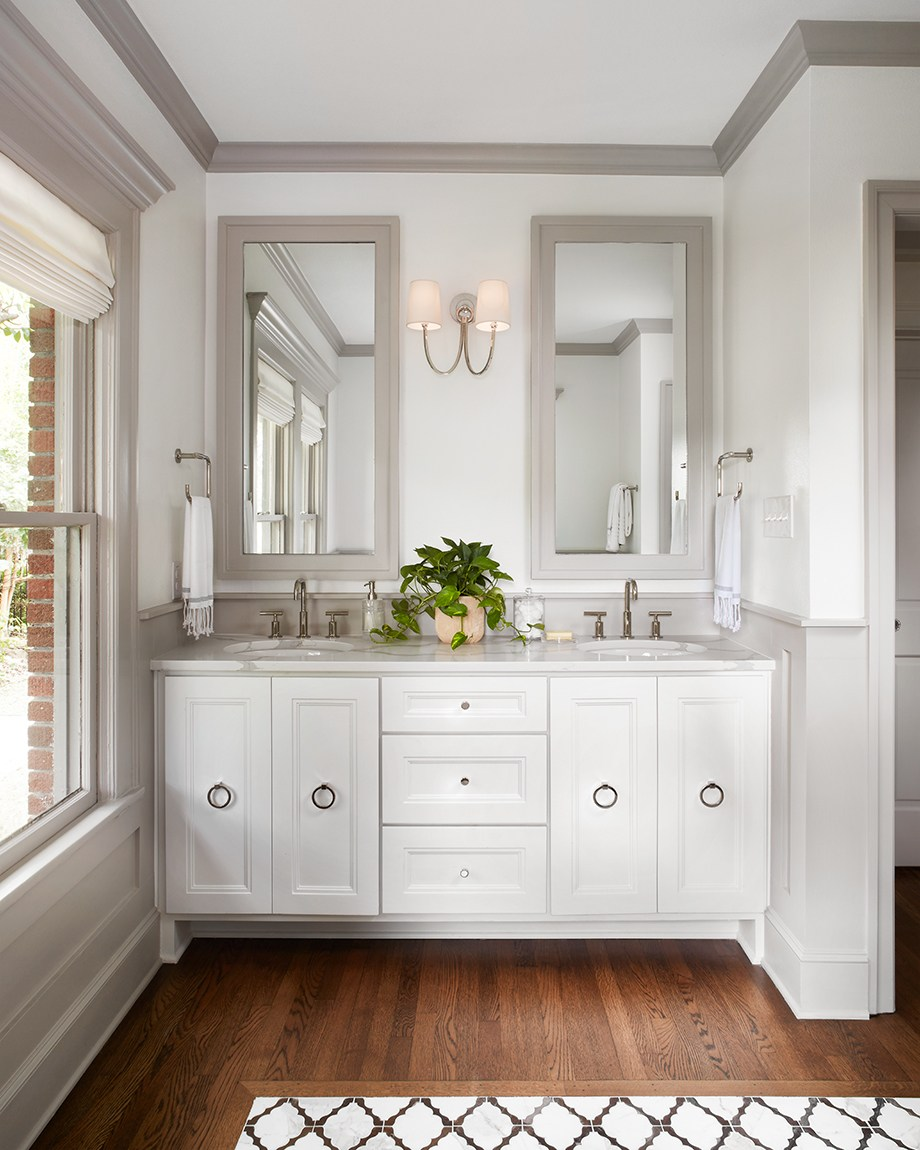 Bathroom Decorating Tips Ideas Pictures From Hgtv: Fixer Upper's Tudor Style Home