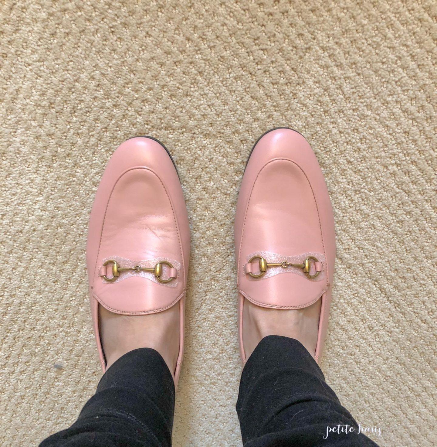 gucci princetown mule pink